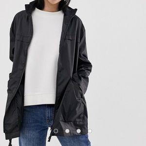 ASOS pac a mac rain jacket